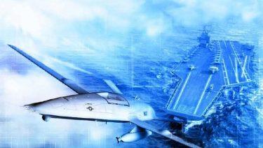 米海軍が開発する空母搭載用無人給油機MQ-25