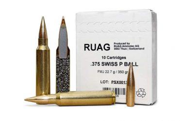 スイスのRUGAが狙撃銃用の新しい弾薬.375 SWISS Pを発表