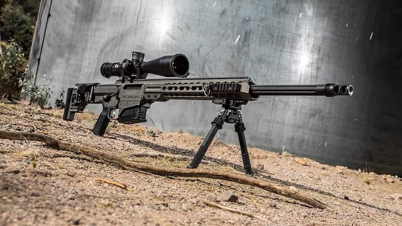 バレットMRAD(Mk22)は米陸軍の標準狙撃銃になります