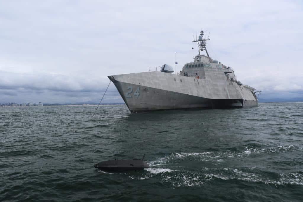 米海軍が超小型無人艇「ADARO」を公開
