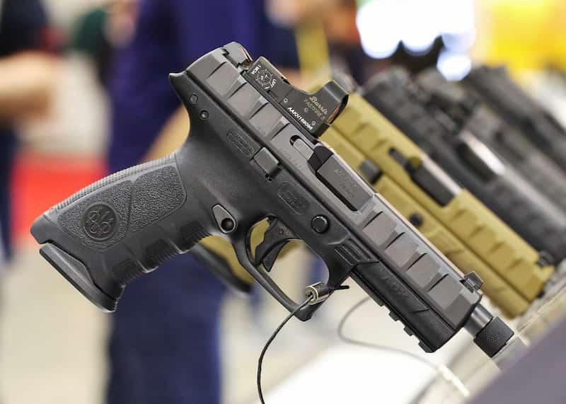 Bretta APX イタリア軍が採用を計画するモジュラー式拳銃