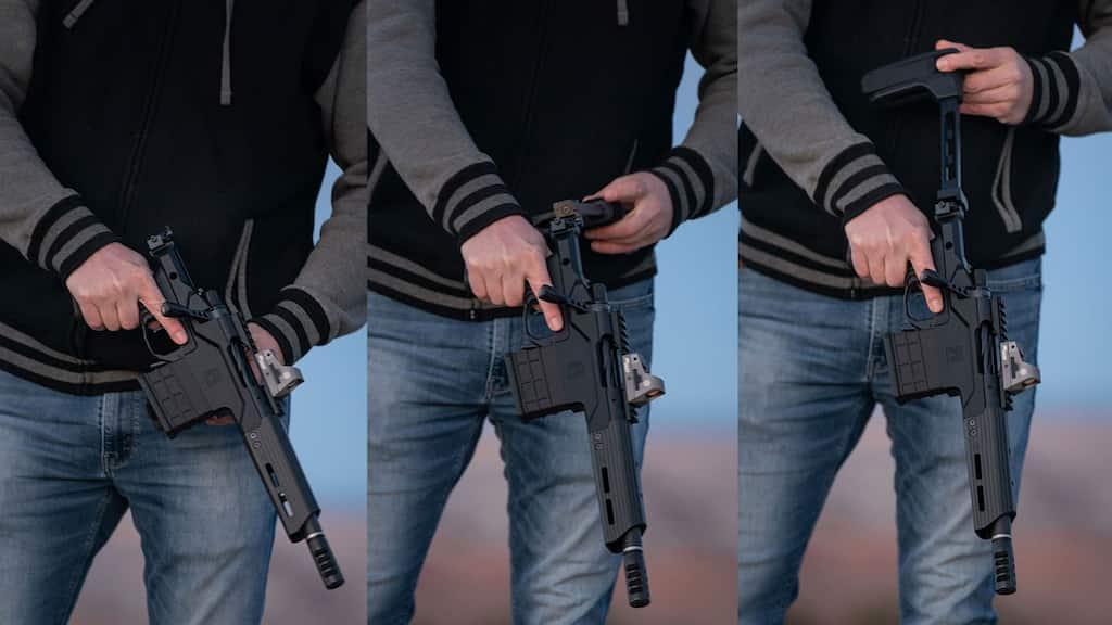 """ボルトアクションピストル""""Modern Precision Pistol"""""""