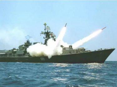 インド海軍は艦艇を護るために独自に高度なチャフを開発をしました