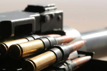 米海兵隊はプラスチック製の薬莢を使用する50口径弾を使用します