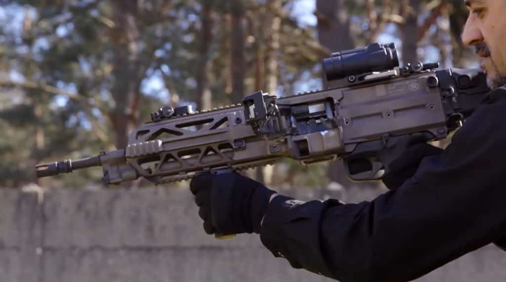 FNハースタルが新しい軽機関銃『FN EVOLYS』を発表