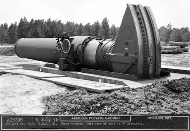 世界最大の迫撃砲「リトル・デービッド」