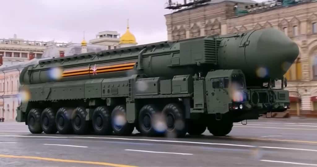 RS-24 Yars 大陸間弾道ミサイル