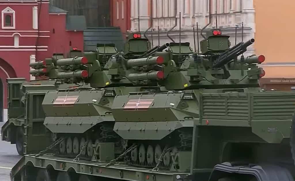 Uran-9無人戦闘車両