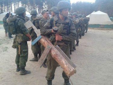 ロシア軍の懲罰は非常に滑稽です