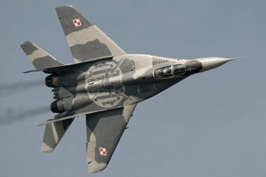 ポーランド空軍のMig-29が誤って味方のMig-29に発砲