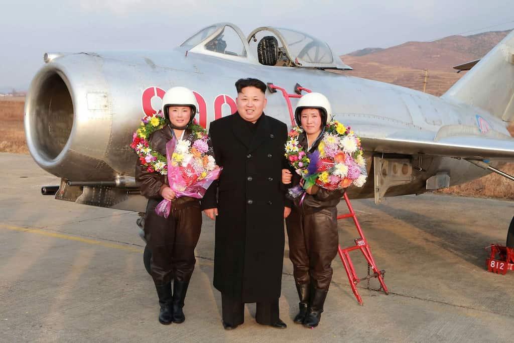 衛星画像を用いて分析。北朝鮮空軍は500機以上の戦闘機を保持している
