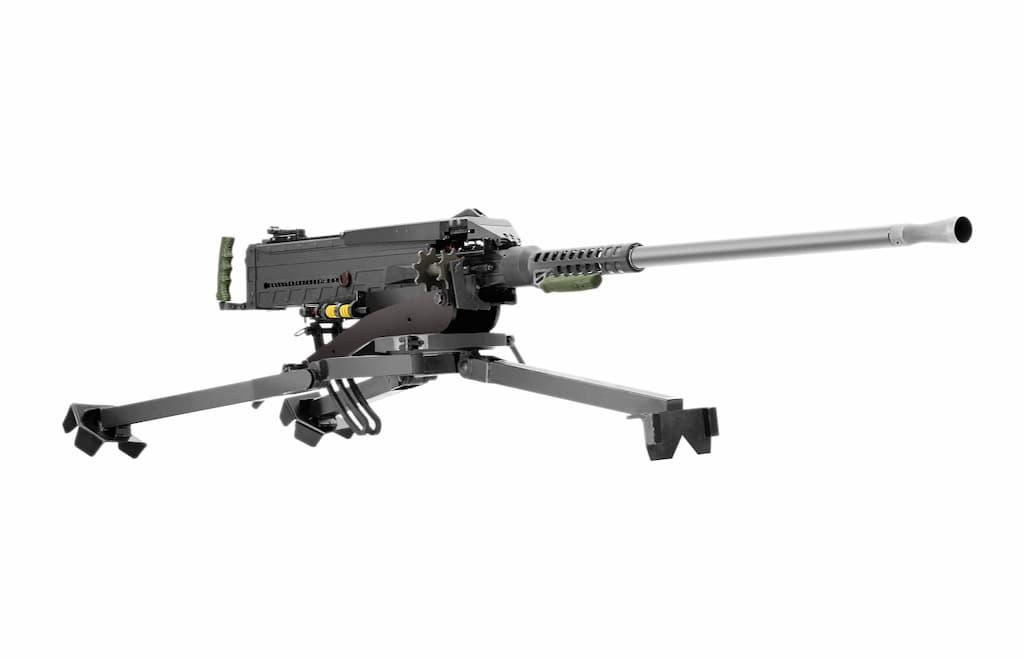 SnipexがLaska K-2重機関銃を発表