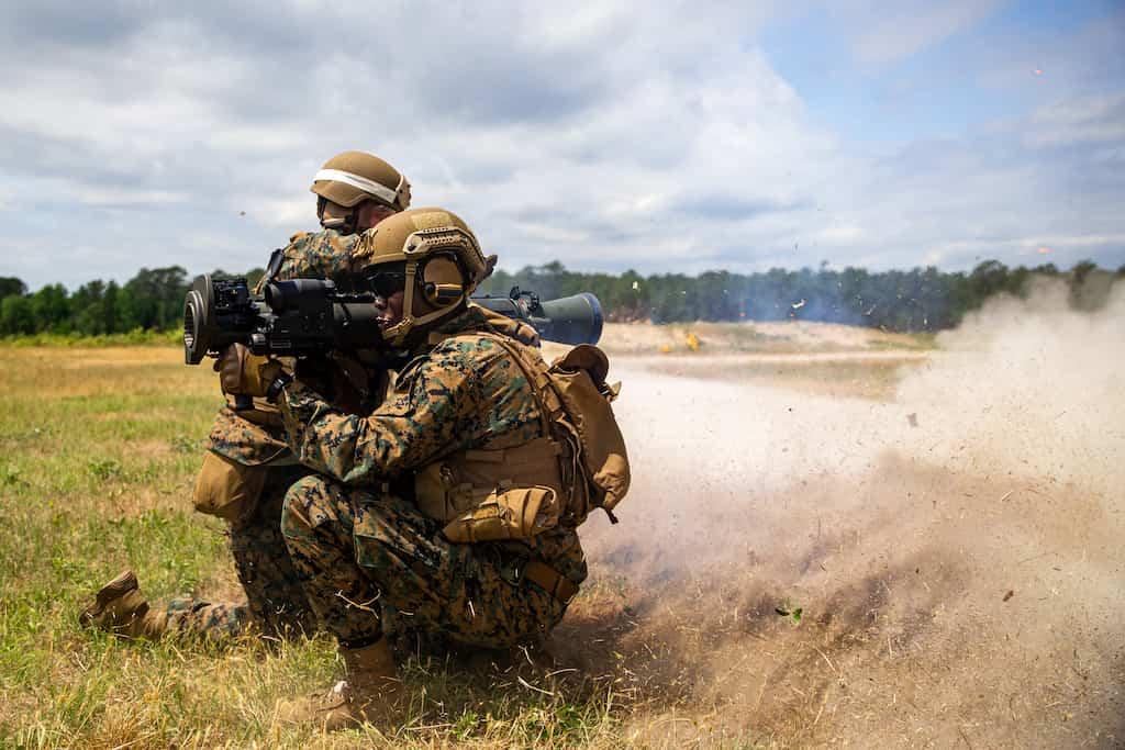 米海隊はカールグスタフM3A1 MAAWS無反動砲を手に入れます