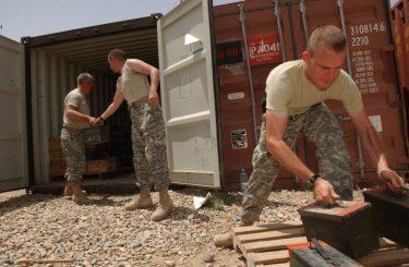 NATOの8つの同盟国間で弾薬の兵站を再構築します