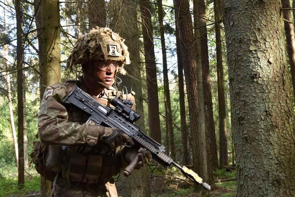 イギリス軍の主力小銃L85