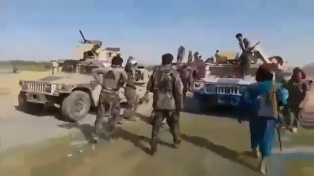6月だけで700台以上の米軍車両がタリバンの手に渡りました