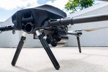 空飛ぶダネルMGL⁉グレネードランチャーを搭載したドローンCerberus GLH