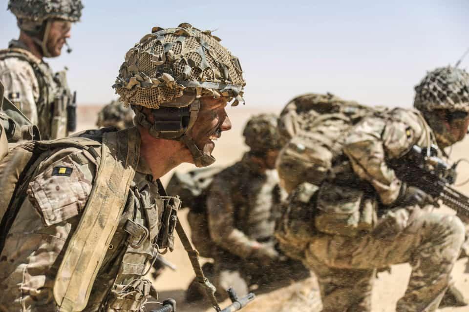 タリバンに囲まれた英陸軍特殊部隊SAS隊員20人が救出されていた
