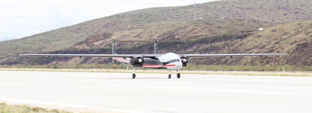 東シナ海に飛来した中国人民解放軍ドローンTB-001とBZK-005