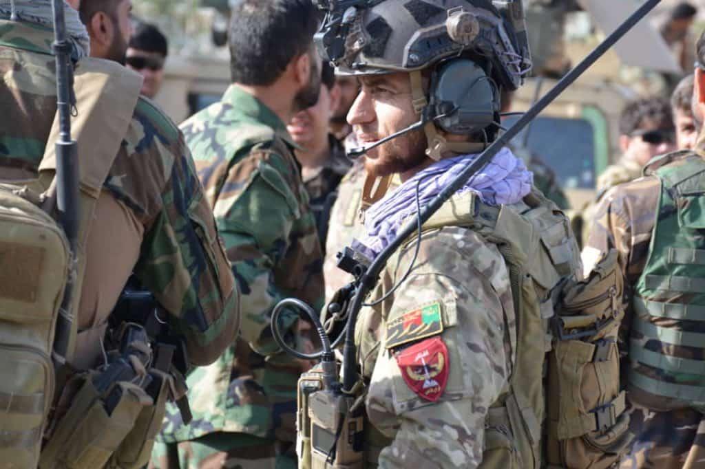 タリバンの司令官は昨年釈放された捕虜5000人の一人です