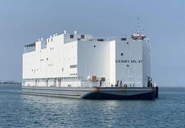 米海軍の新しい宿泊艦APL67は横須賀に配備予定です