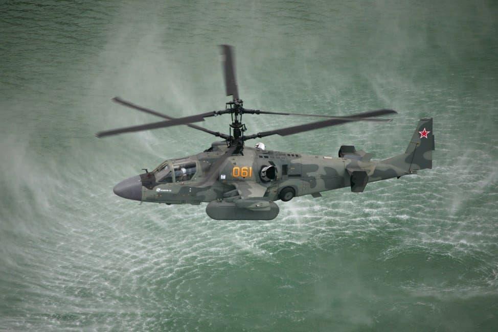 中国は36機のKa-52K攻撃ヘリを購入して075型強襲揚陸艦に搭載する予定です