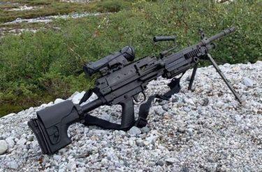 陸自の次期機関銃候補 FN MINIMI Mk3