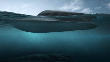 高速艇と潜水艇の能力を併せ持つ特殊部隊の未来の乗り物「Victa」