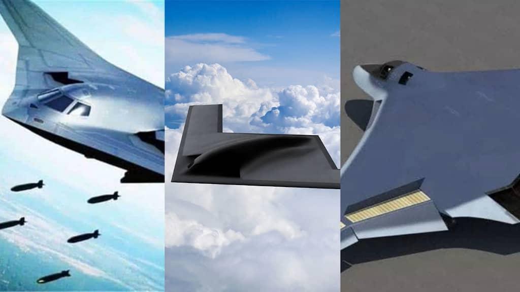 米中露が開発する次世代ステルス戦略爆撃機
