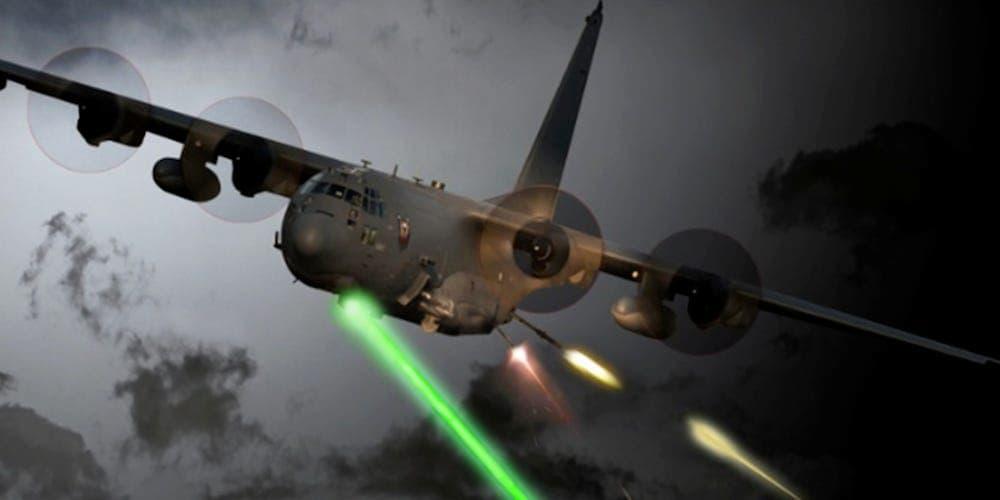 米空軍はAC-130Jゴーストライダーにレーザー兵器を搭載します