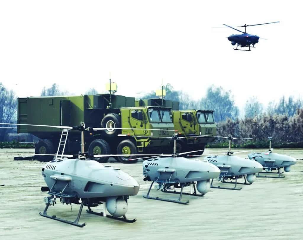 中国のゴールデンイーグルCR500無人ヘリの火力は攻撃ヘリに匹敵します