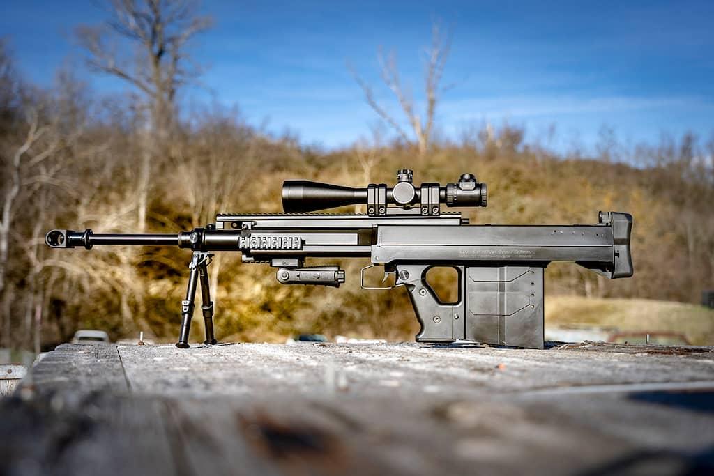 """イギリス軍のSASとSBSは""""ゲパード GM6 Lynx""""ライフルを装備します"""