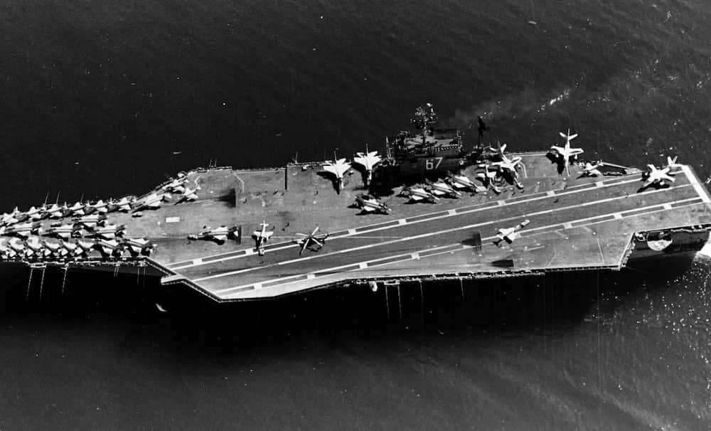 USS ジョン・F・ケネディ